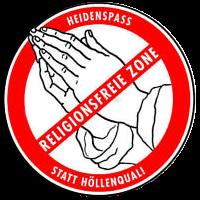 """""""Enttaufung"""" an Karfreitag - Religionsfreie Zone 2014"""
