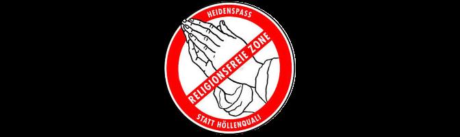 """""""Enttaufung"""" an Karfreitag – Religionsfreie Zone 2014"""