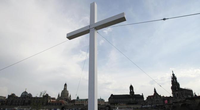 Kreuz in Dresden