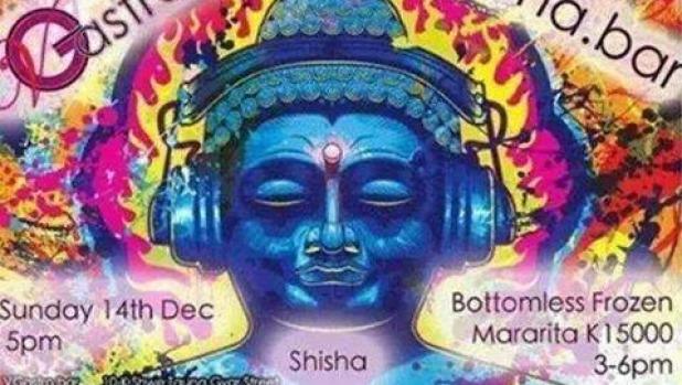 Buddhas mit Kopfhörern