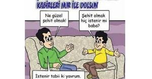 Ausschnitt aus dem türkischen Maertyrer-Comic