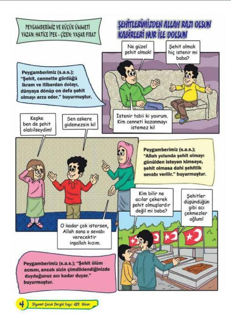 Märtyrer-Comic