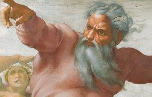 Gott von Michelangelo