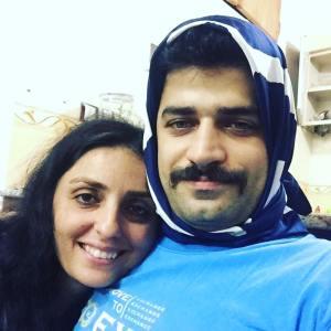 #meninhijab - Darum tragen im Iran jetzt auch Männer Kopftuch