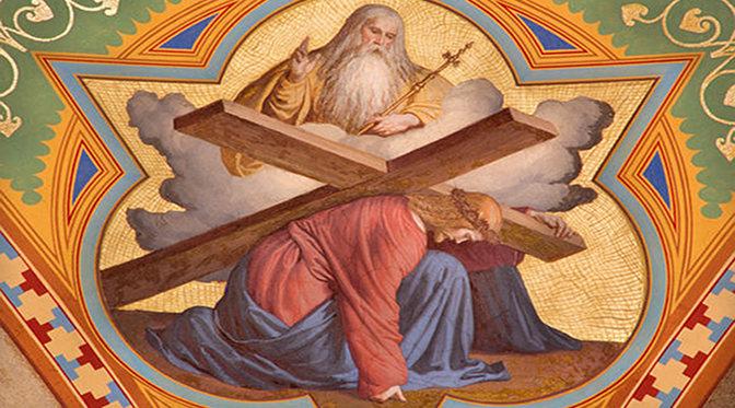 Jesus trägt Kreuz