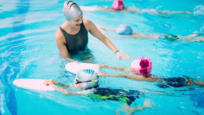 Gemischter Schwimmunterricht