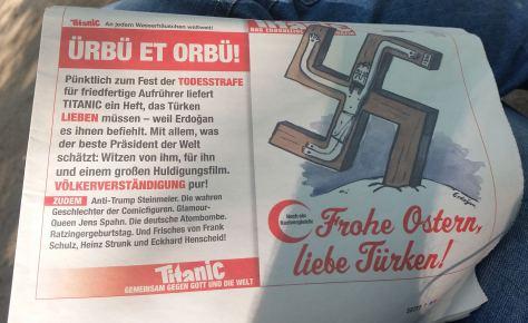 ElektroPostkarte - Noch ein Nazivergleich: Frohe Ostern, liebe Türken! (04/2017)