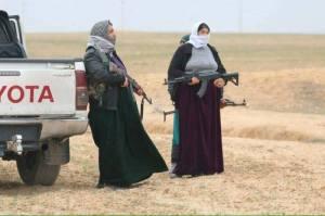 jesiden Frauenbrigade der YBS