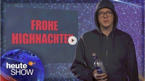 heute-show - Alkohol oder Cannabis? Nico Semsrott über die deutsche Drogenpolitik
