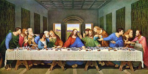 Das Abendmahl von Leonardo da Vinci. Bild: gemeinfrei