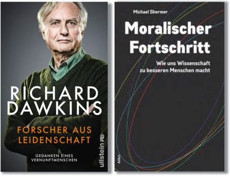 Richard Dawkins & Michael Shermer in Berlin
