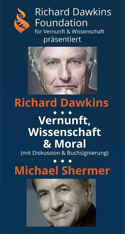 Richard Dawkins & Michael Shermer in Berlin - Diskussion und Buchvorstellung: Vernunft, Wissenschaft & Moral