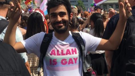 Amed Sherwan ist Ex-Muslim - Allah is gay
