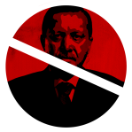 ERDOGAN NOT WELCOME