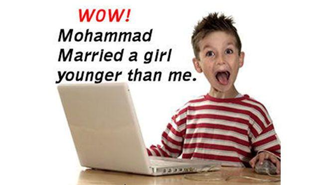 Mohammed pädophil?