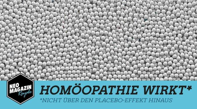 Homöopathie wirkt nicht über den Placebo-Effekt hinaus