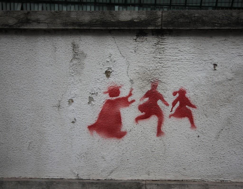 Catholic Church Abuse Scandal Graffiti Portugal 2011