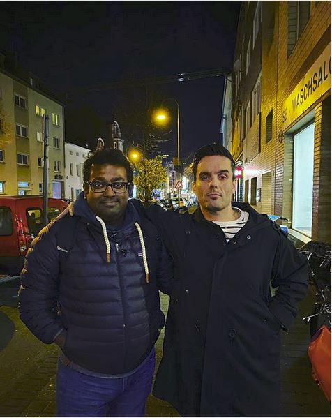 Aktivist und Freiheitskämpfer Mahmudul Haque Munshis aus Bangladesh - mit Christian vom Aethervox Ehrenfeld Podcast unterwegs in Köln