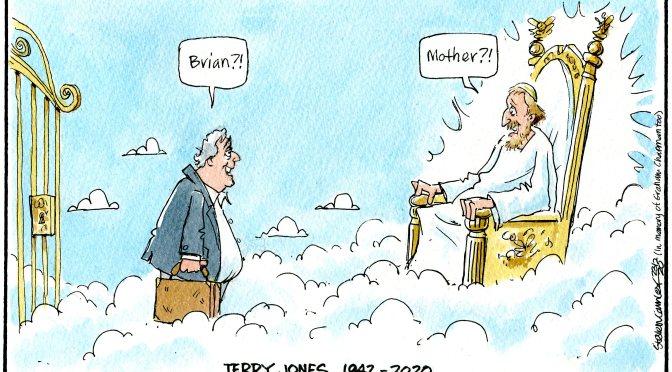 Terry Jones †21.01.2020