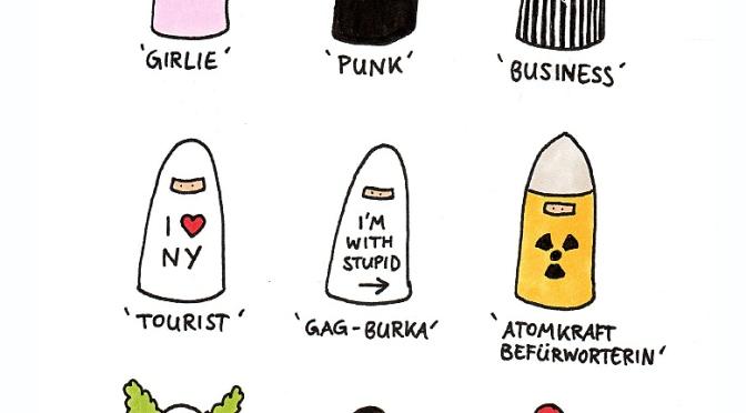 Die neue Burka Kollektion