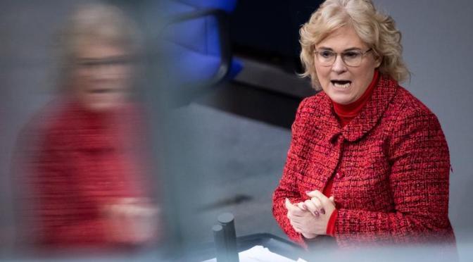 Justizministerin Lambrecht zu Missbrauchsskandal