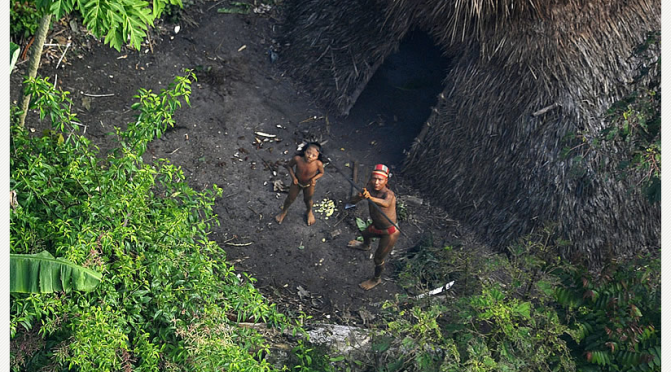 Indios Amazonien