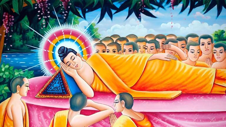 Buddhismus | Tod von Siddhartha Gautama