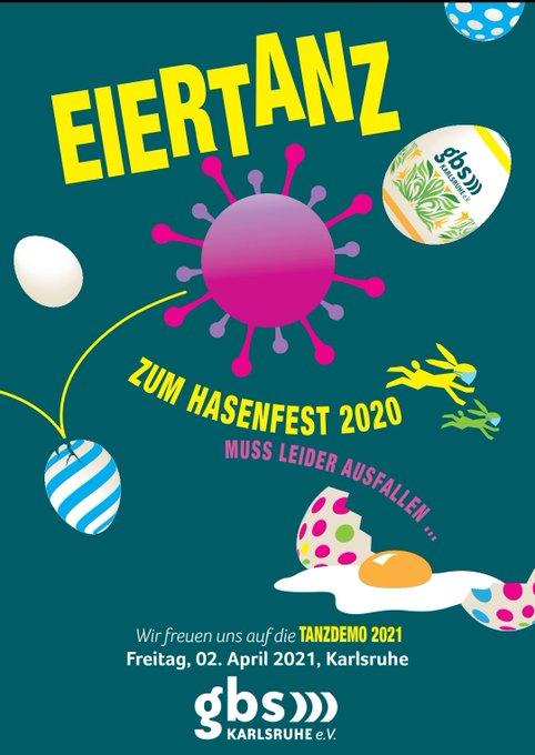 GBS Karlsruhe - Eiertanz zum Hasenfest